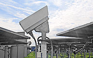 Solar Power Tower Check - Protective housing