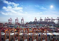 Monitoring seaports with FIRE-SCAN - © iStock-615804292-pat138241