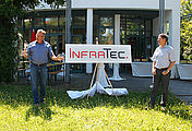 InfraTec presents redesigned Logo