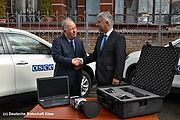 Transfer of VarioCAM® HD head security series - Picture Credits: © Deutsche Botschaft Kiew