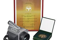 VarioCAM® high resolution won one of the treasured gold medals