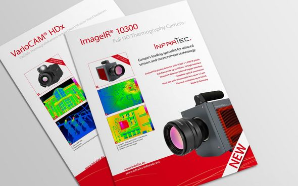 InfraTec product flyer