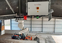 Early fire detection with waste bunker fire detection system - WASTE-SCAN from InfraTec