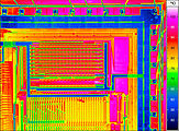 thermal imaging of a microchip