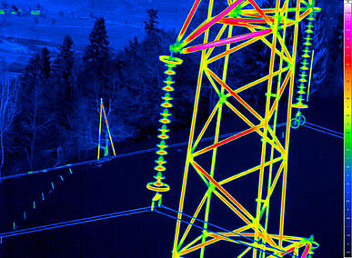 Inspection of High Voltage Networks