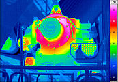 thermal imaging mechanical assembly bearing