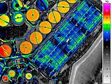 Aerial thermography with infrared camera