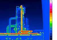 Infrared camera VarioCAM® HD Z - Chemical plant