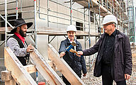 Topping-out Ceremony at InfraTec