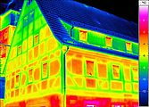 Building thermography - framework house