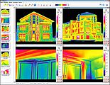 Bauthermografie-Analysesoftware FORNAX 2