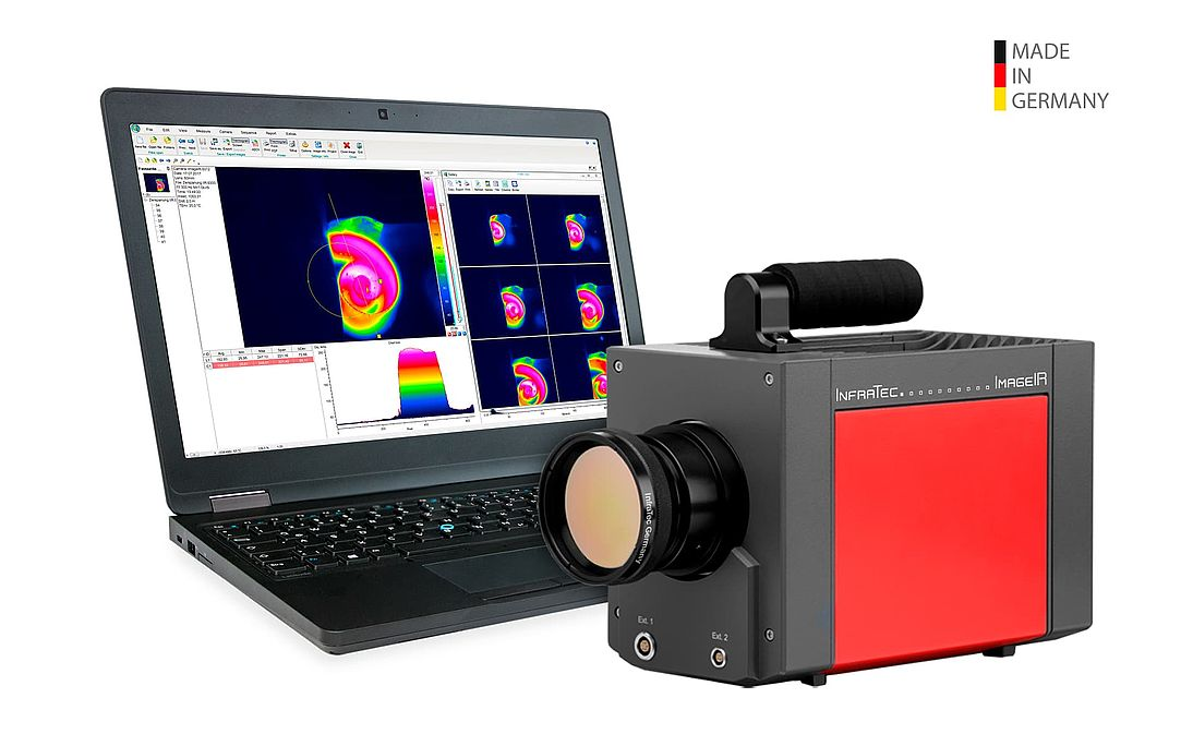 Infrared camera ImageIR® 8800 Series from InfraTec