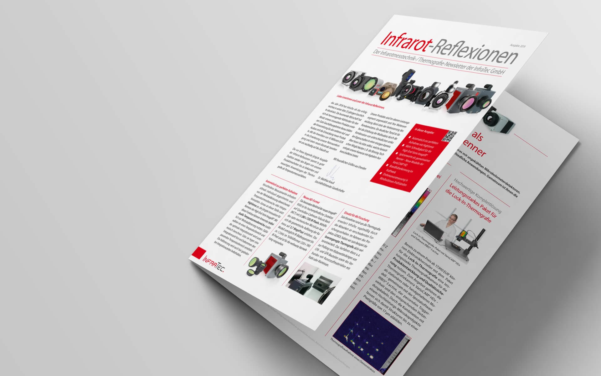 InfraTec Newsletter