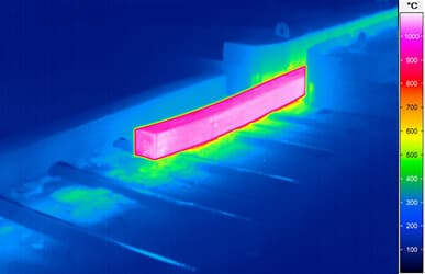 Thermografie in der Metallindustrie