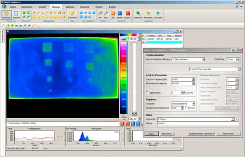 Aktiv-Thermografie Software® IRBIS 3