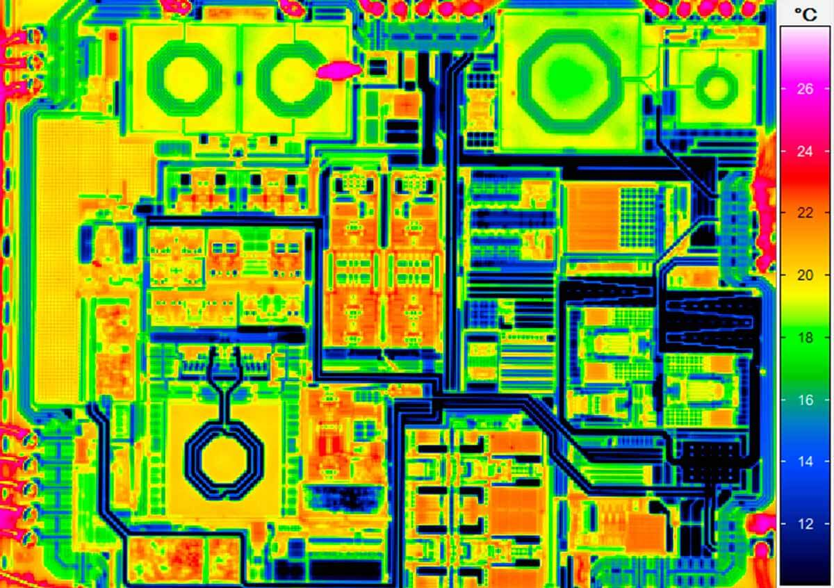 Thermografie Mikrochip