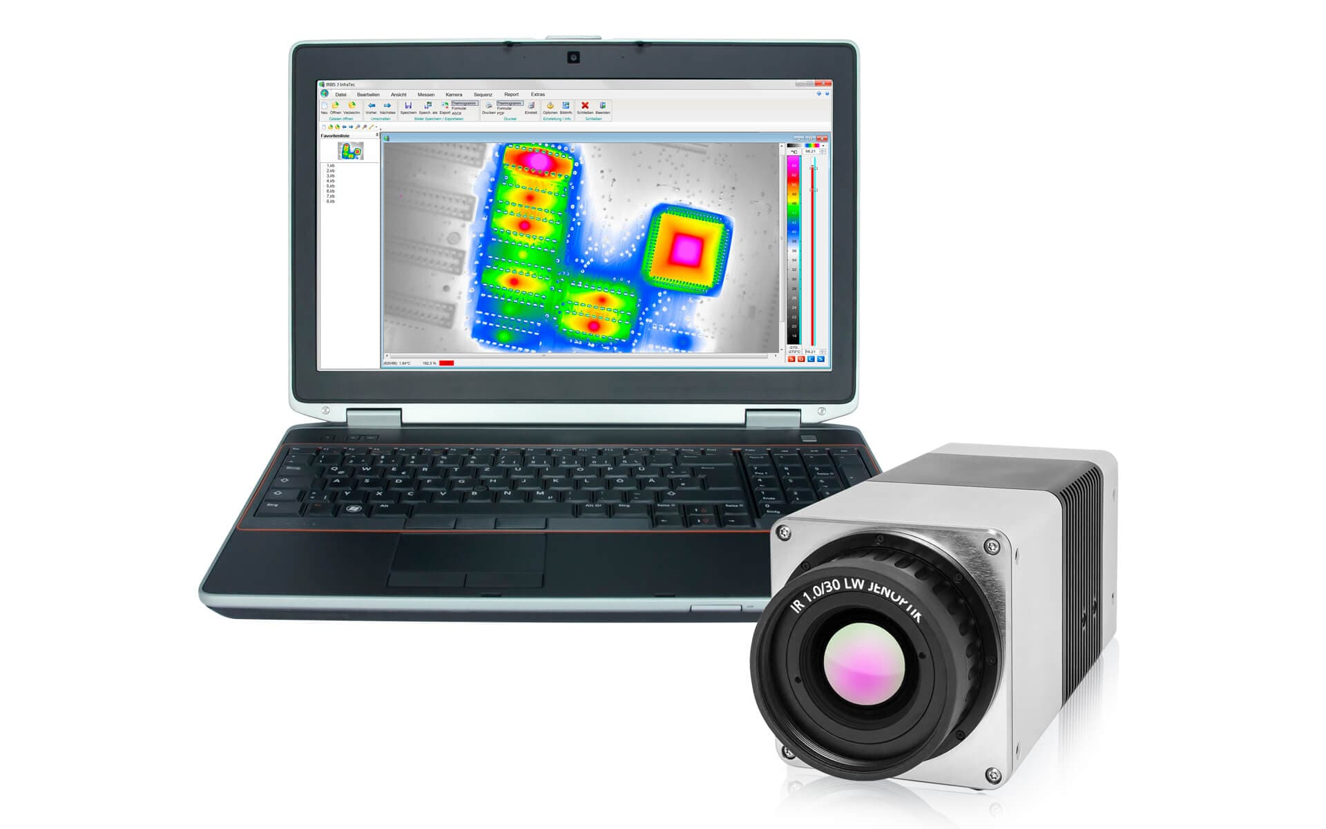 InfraTec Glossar MicroScan - VarioCAM HD head