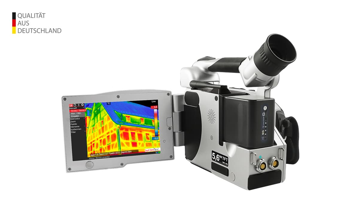 Wärmebildkamera VarioCAM® High Definition von InfraTec