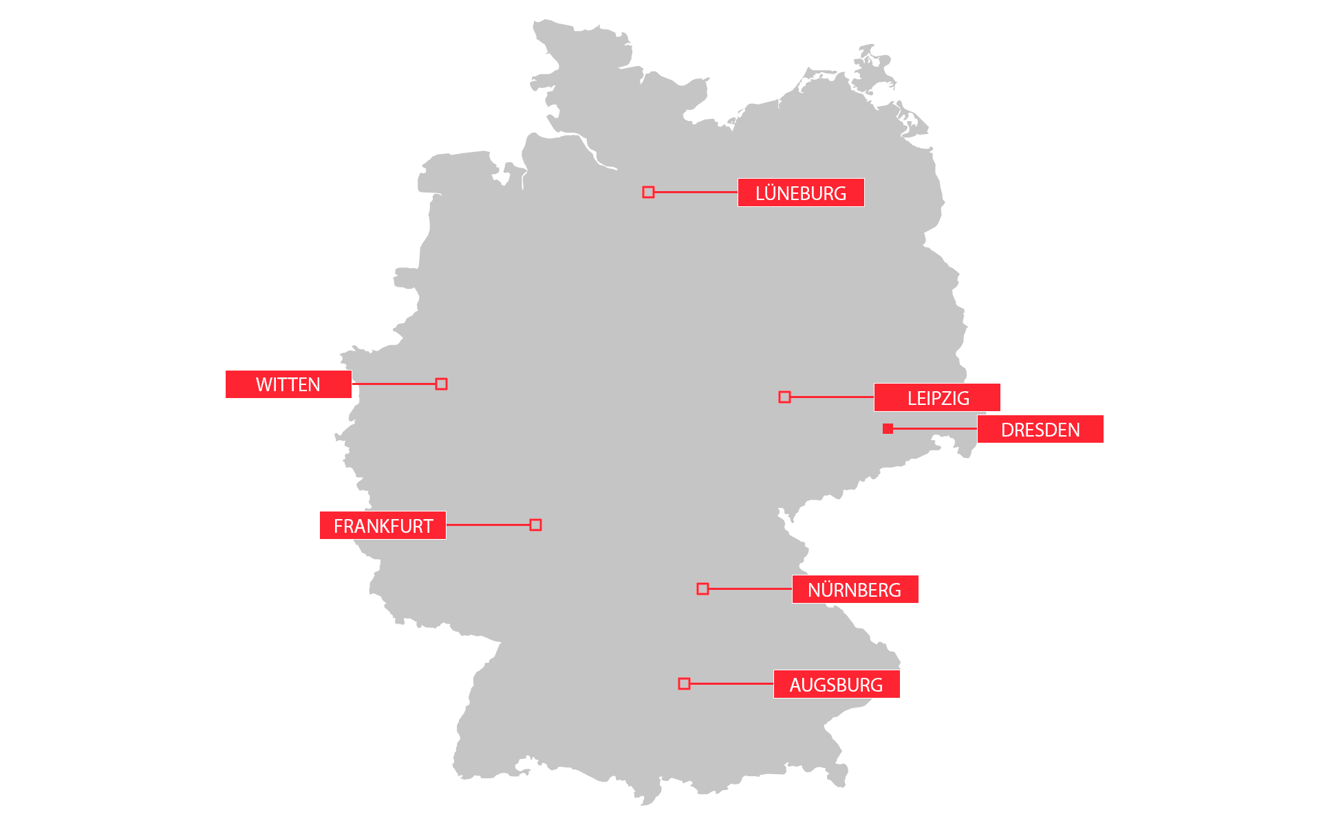 InfraTec branch offices Germany and Austria