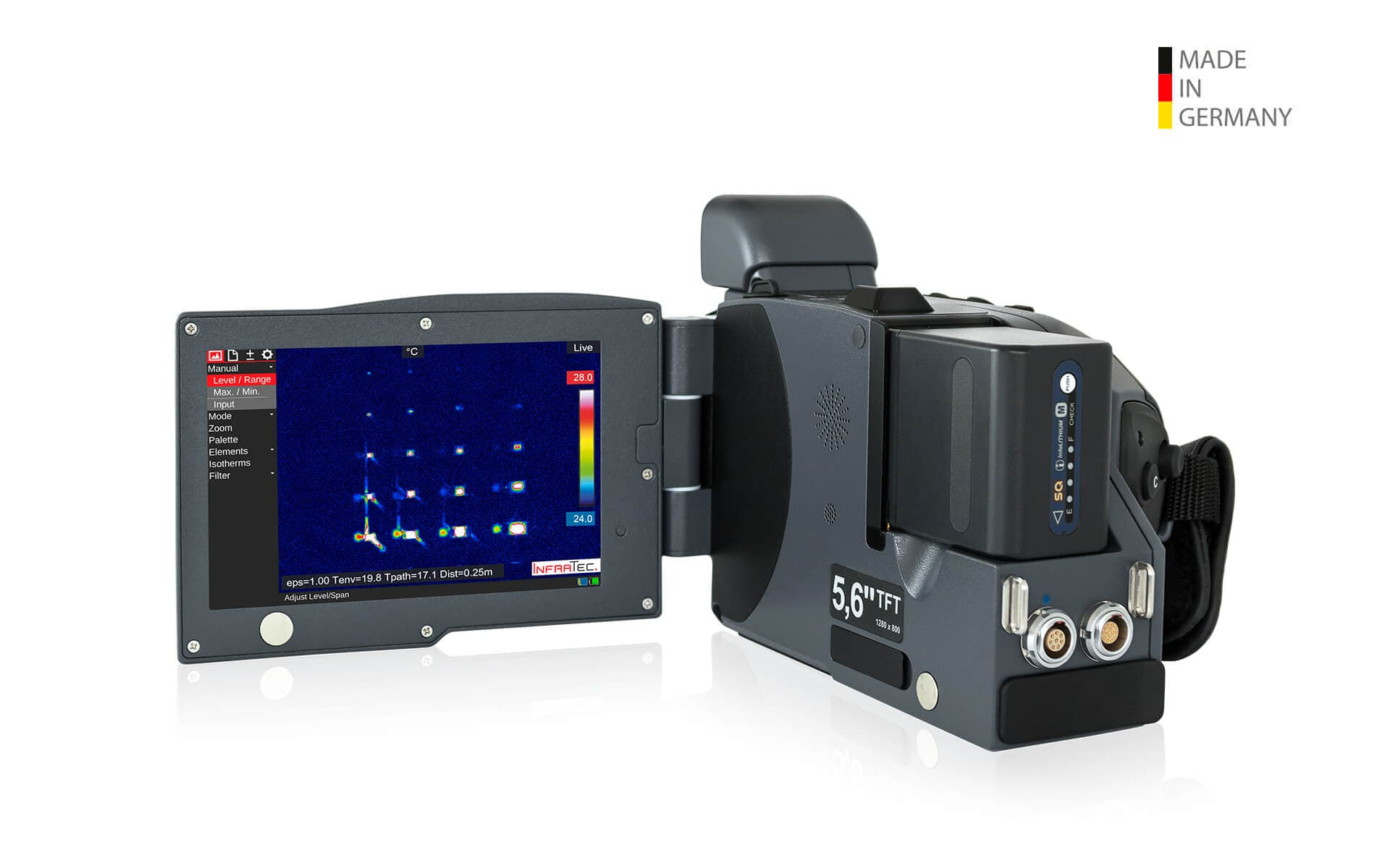 Infrared camera VarioCAM HDx demonstrator
