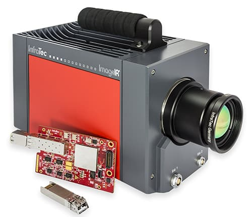 10 GigE interface for camera series ImageIR®