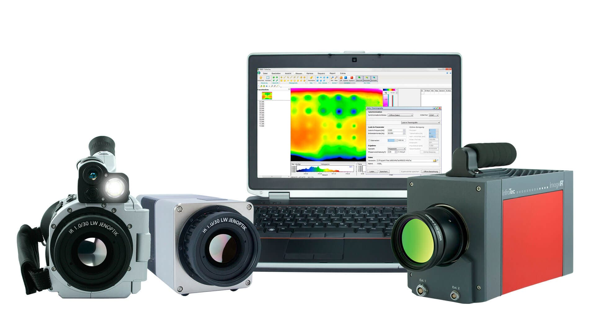 Active thermography for non-destructive testing