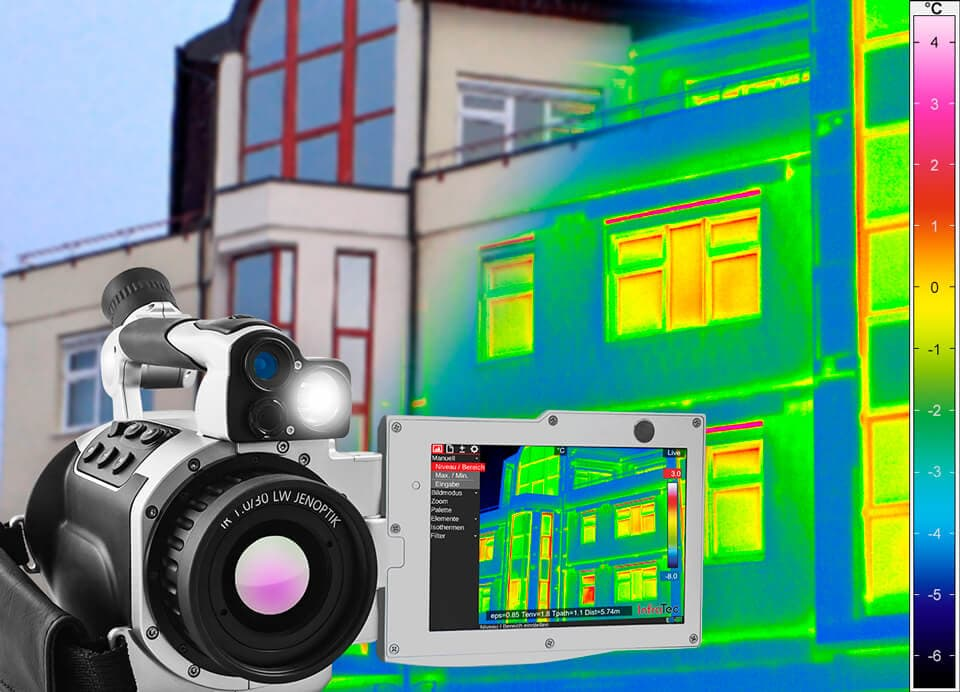 Building thermography with VarioCAM® High Defintion