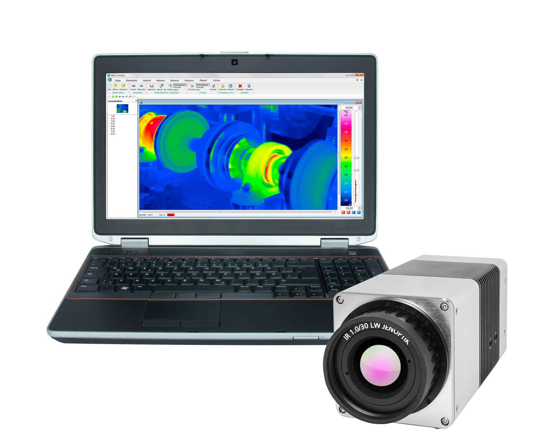 Thermal imaging camera VarioCAM® HD head