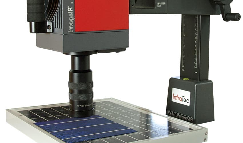 Micro-thermography with ImageIR® 9300 from InfraTec