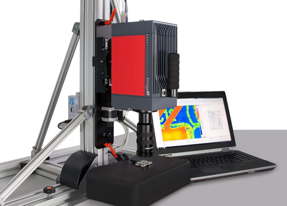 Temperature measurement on microstructures with ImageIR® from InfraTec