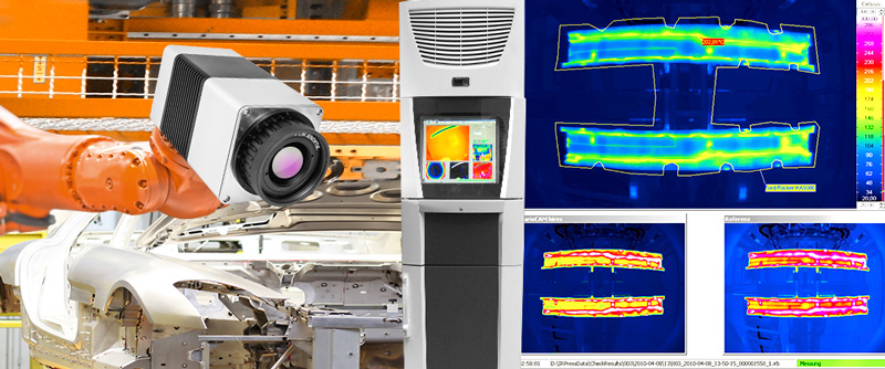 Automated thermographic inspection system PRESS-CHECK for press hardening processes of car bodies - Picture Credits: © RAM / Fotolia.com