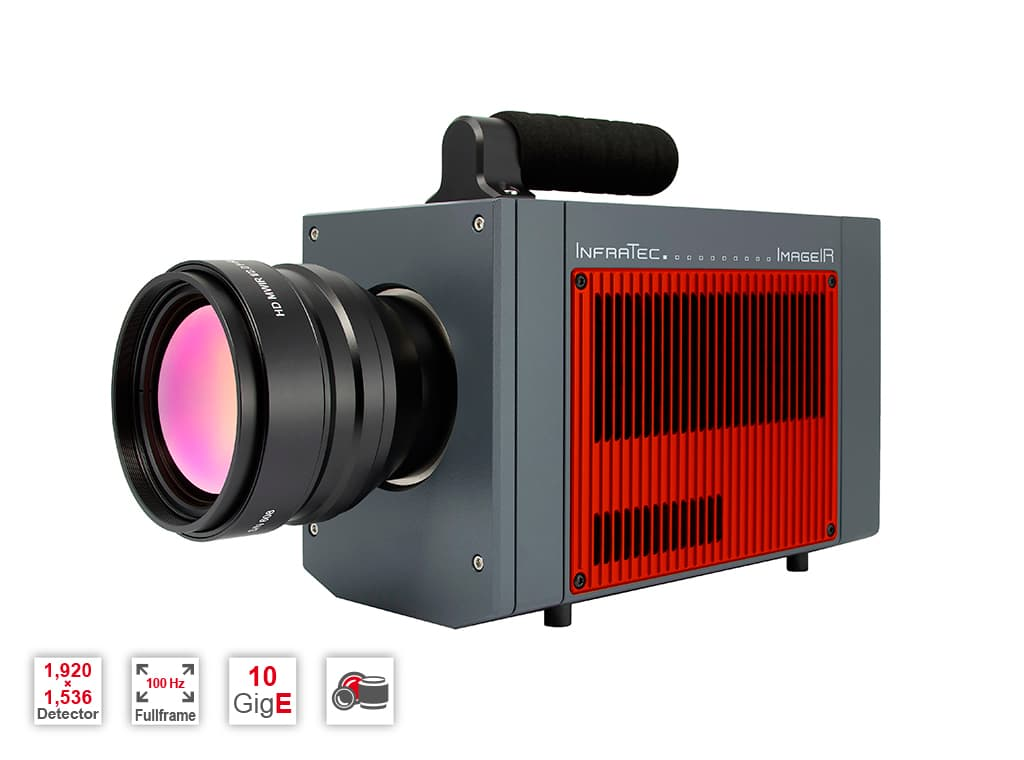 Infrared camera ImageIR® 10300 from InfraTec