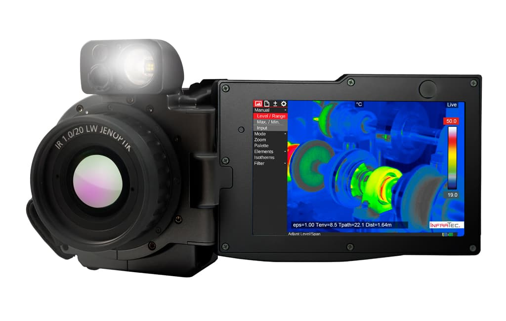 Infrared camera VarioCAM® HDx from InfraTec