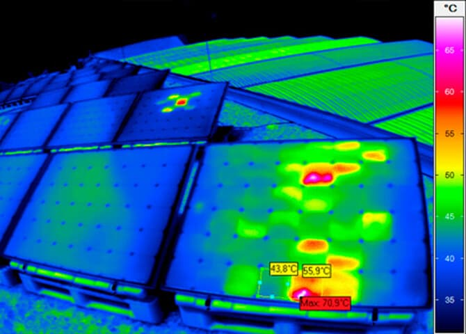 Detect weak points in photovoltaic systems