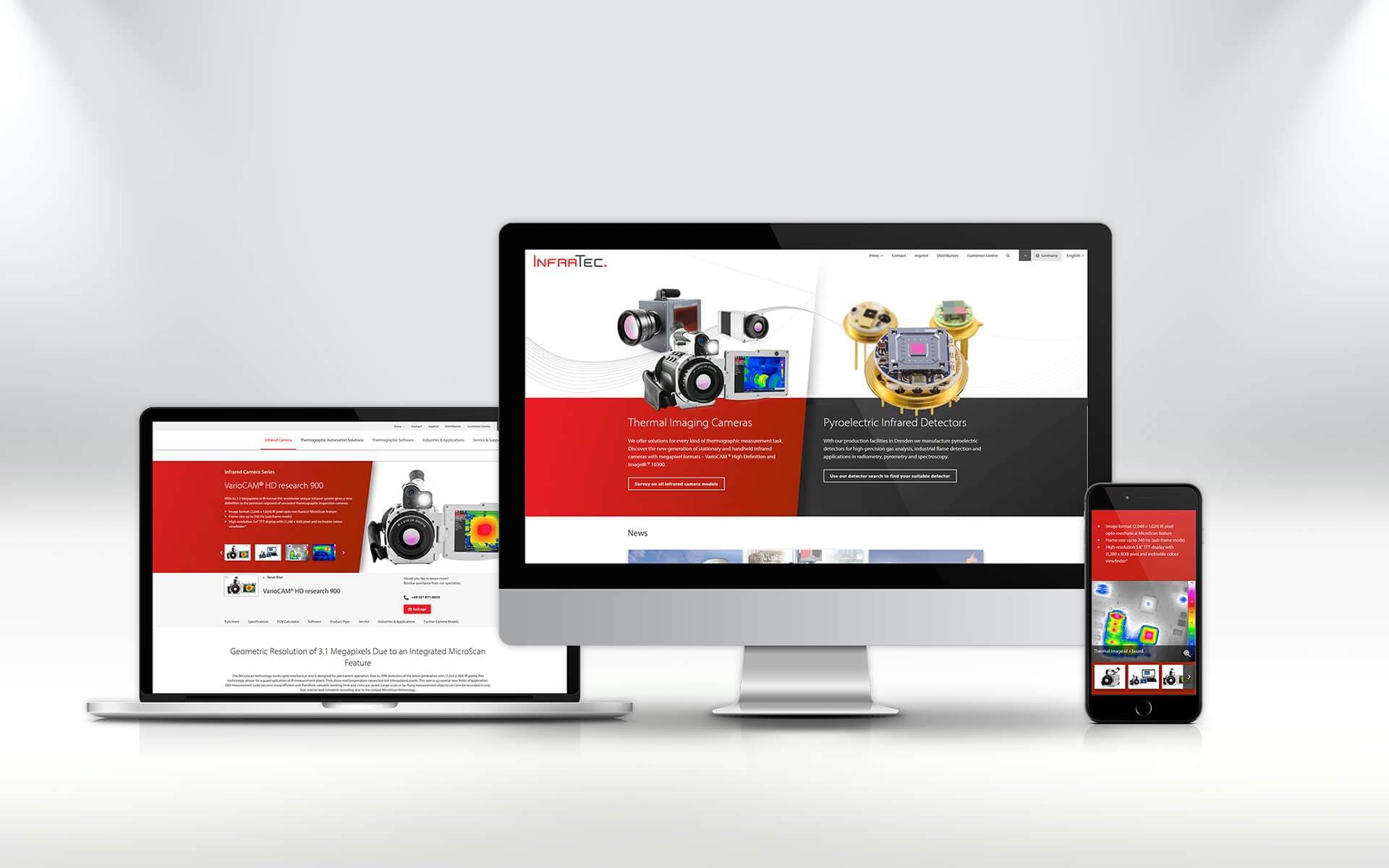 New InfraTec website