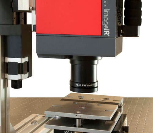 InfraTec developed thermographic system for non-destructive detection of faults in SiP components