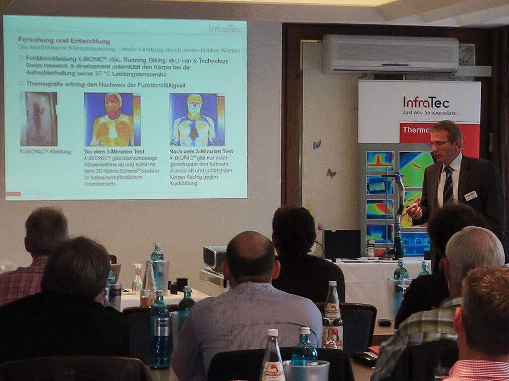 Roadshow on Infrared Thermography