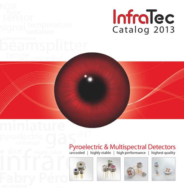 InfraTec Catalog of Pyroelectric Detectors