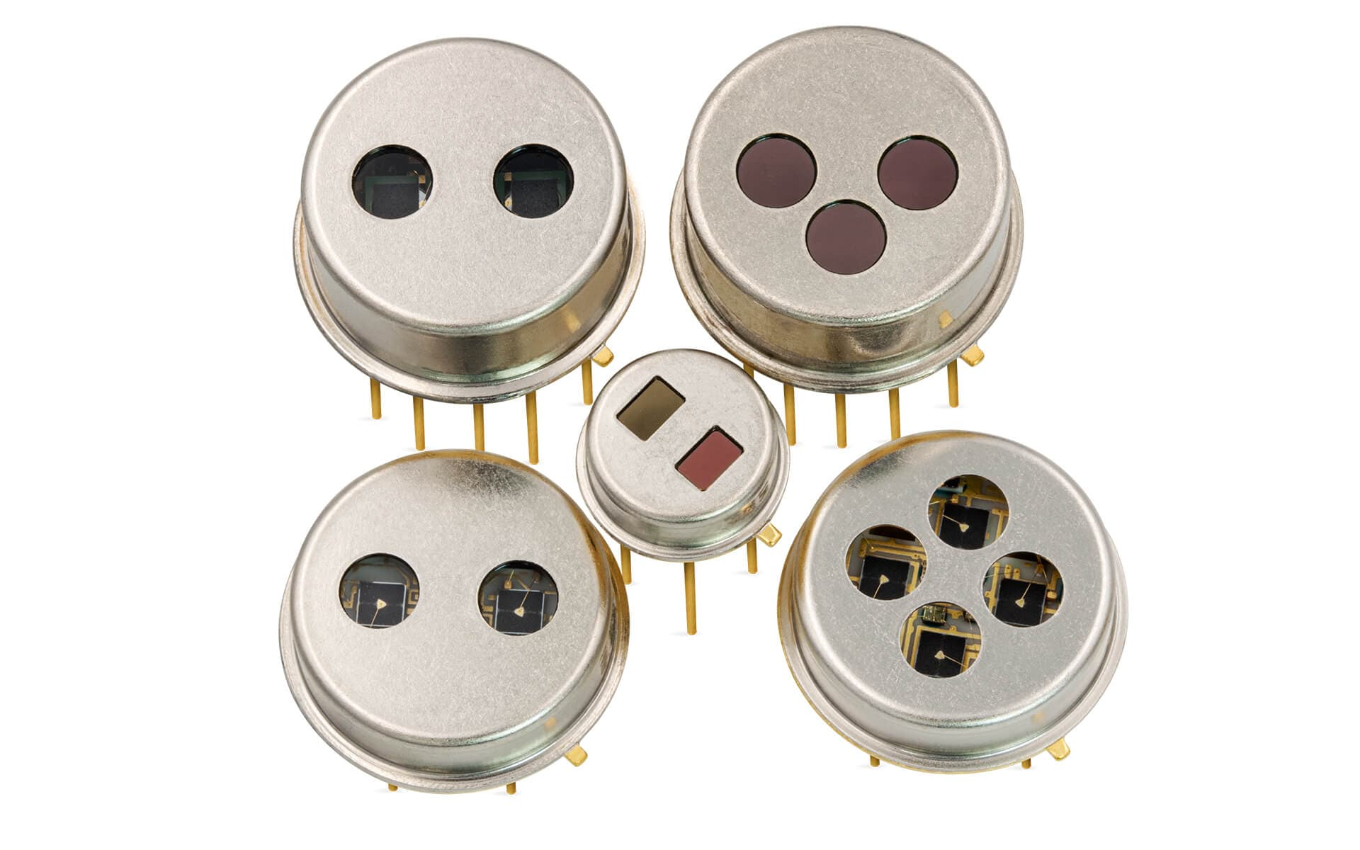 Planar multi channel pyroelectric detectors from InfraTec