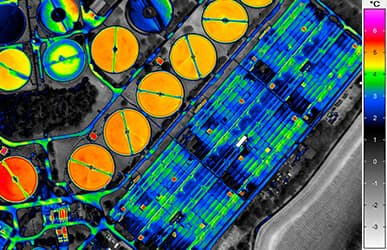 thermography for aerial photography