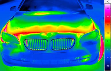 thermography for automotive applications