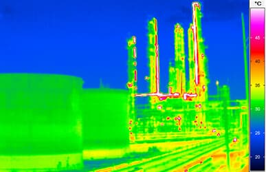 thermal imaging in chemical industry