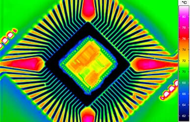 Thermography in electronics