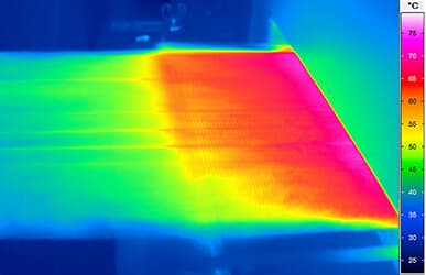 spectral ir thermography