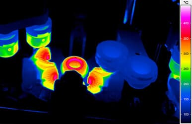 thermal imaging in glass industry