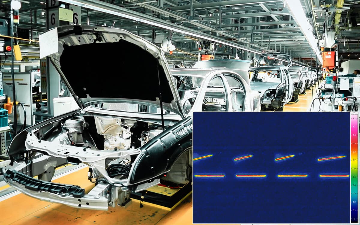 Active thermography in automotive industry - Picture Credits: © Rainer / Fotolia.com