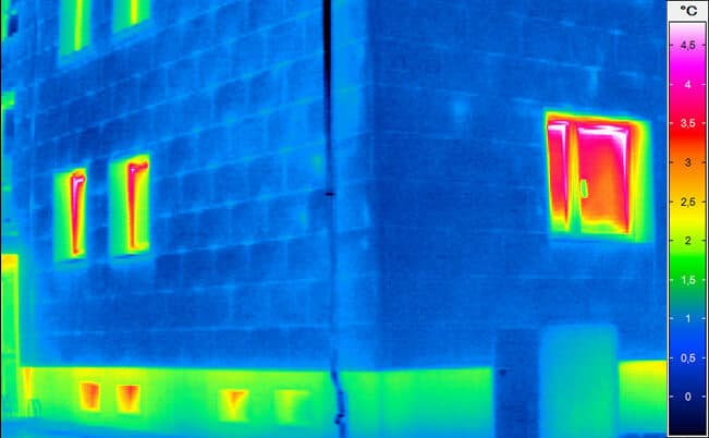Building thermography - Building after the renovation