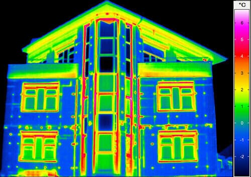 Building thermography - Detection of thermal bridges