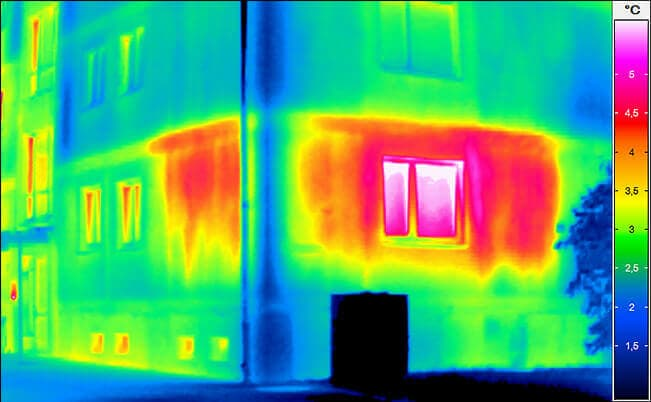 Building thermography - Building before the renovation