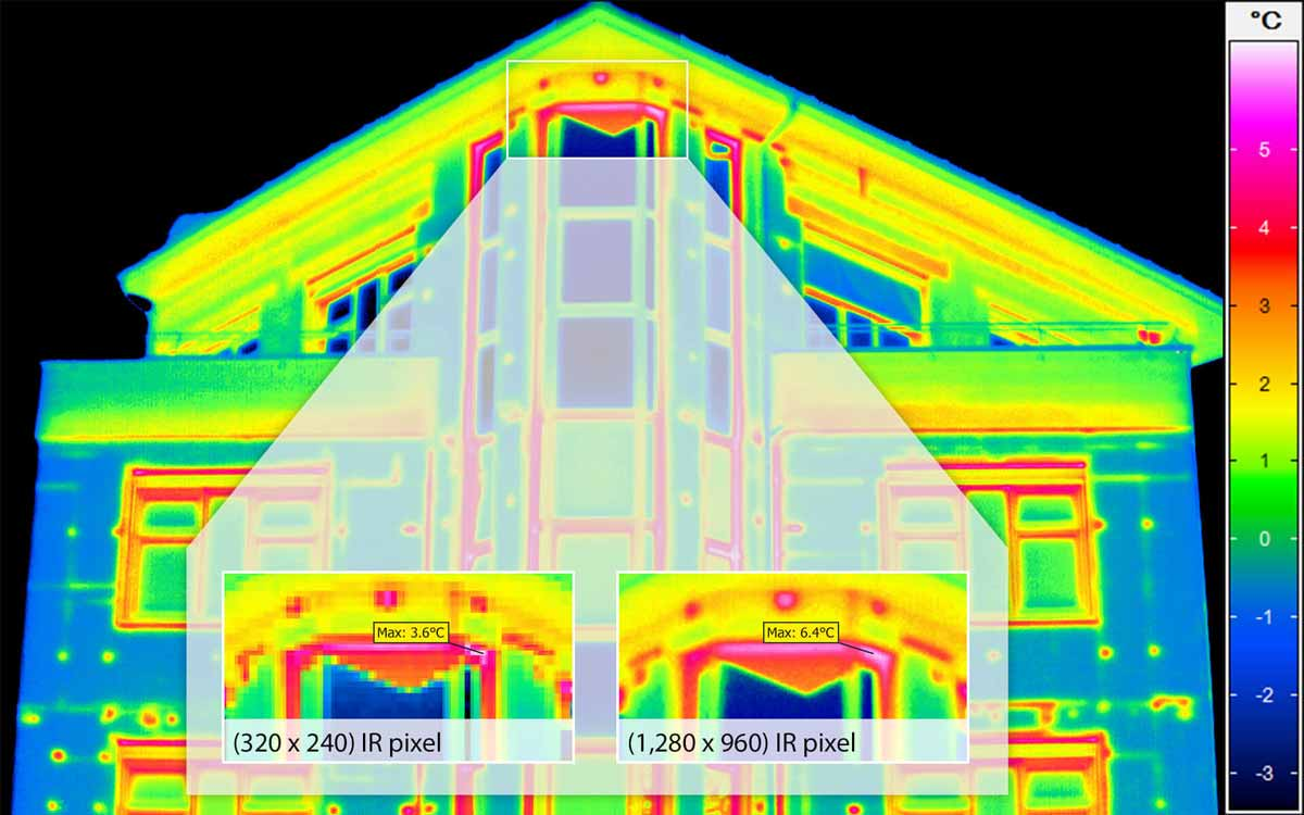 Building thermography - Avoid measurement error